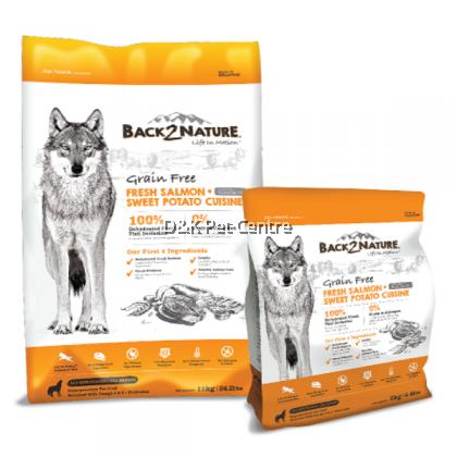 Back2Nature Grain Free Salmon Dog Food 11kg
