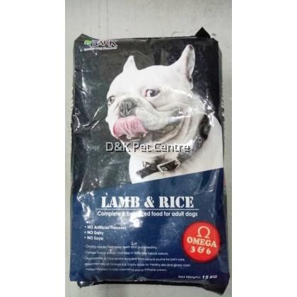 Bark Dog Food Lamb & Rice 15kg (New Packaging)