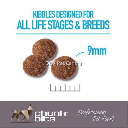 Chunk bits Sensi 27 (Salmon & Tapioca) Dog Food 4kg