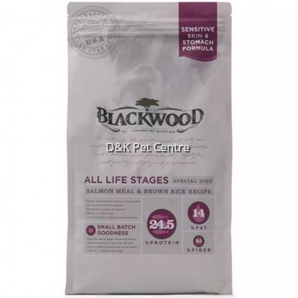 Blackwood All Life Stages Salmon Meal &Brown Rice Recipe Dog Food 6.8 KG