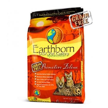 Earthborn Holistic Natural Grain-Free Primitive Feline Cat & Kitten 2.27kg