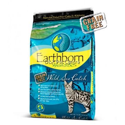 Earthborn Holistic Natural Grain-Free Wild Sea Catch Cat Food 2.27kg