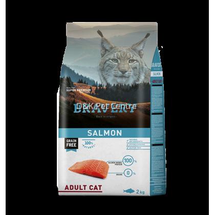 BRAVERY CAT SALMON GRAIN FREE 2KG